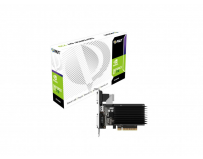 Placa video Palit nVidia GeForce GT 710, 2GB DDR3, 64-bit, Graphics Clock 954Mhz, Mem Clock 800Mhz,