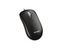 Mouse Microsoft Wired Optic Basic negru