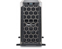 """PowerEdge Tower T340 Server; Intel Xeon E-2224 3.4GHz, 8M cache, 4C/4T, turbo (71W); 3.5"""" Chassis up"""