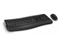 Kit tastatura + mouse Microsoft Wireless BlueTrack Desktop Comfort 5050 negru