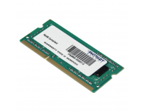 Memorie RAM notebook Patriot, SODIMM, DDR3, 4GB, 1600 Mhz, CL11, 1.5V