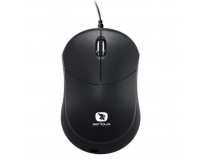 Mouse Serioux cu fir, optic, Rainbow 680, 1000dpi, negru, ambidextru, blister, mini, USB