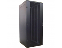 "Rack de podea 19"" Triton 27U 600x1000mm usa fata metal perforat panouri laterale/spate detasabile sectiuni"