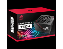 Sursa Asus ROG Strix 750W, full-modulara, 80Plus Gold, Eff 92%, PFC Activ, ATX12V, 1x 135mm Fan, 0dB