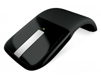 Mouse Microsoft Wireless BlueTrack ARC Touch negru scroll metalic