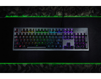 Tastatura Razer Huntsman, cu fir, US layout, neagra, Chroma backlighting with 16.8 million customizable