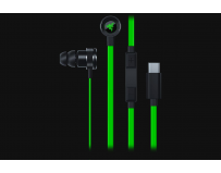 Casti cu microfon Razer, Hammerhead USB-C, In-Ear, 20Hz – 20,000Hz, Impedance: 32 ± 15% Ω, Sensitivity: