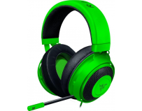 Casti cu microfon Razer gaming, Kraken GREEN, Full size, 12 Hz – 28 kHz, Sensitivity (@1 kHz): 109