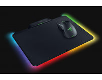Mouse Razer Mamba Hyperflux + Firefly Hyperflux, Battery-less, lightweight wireless gaming mouse, 16,000
