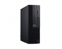 Desktop Dell OptiPlex 3060 SFF, Intel Core i5-8500 (6 Cores/9MB/6T/up to 4.1GHz/65W), Intel Integrated
