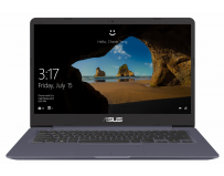 "Laptop Asus S406UA-BM033T, 14"" FHD (1920X1080), Antiglare (mat), Wide View, Intel Core I7-8550U (1.8GHz"