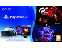 SONY PlayStation Virtual Reality - PS VR uses the power of PlayStation 4: Simply connect the two systems