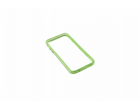 Bumper Serioux, pentru iPhone 6, silicon, lime