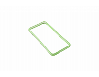 Bumper Serioux, pentru iPhone 6 Plus, silicon, lime