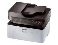 Multifunctional laser mono cu fax Samsung SL-M2070F/SEE, Print/Scan/Copy/Fax, dimensiune A4, 20 ppm,