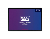 "SSD Goodram, CX400, 1TB, 2.5"", SATA III (6 GB/s), R/W speed: up to 550MB/s/490MB/s"