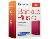 "HDD extern Seagate, 4TB, Backup Plus, 2.5"", USB3.0, rosu"