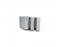 NAS Lacie, 2 Bay, 8TB, USB 3.0, 7200RPM, 2-Bay RAID Array, 2 enterprise class drives, 2 porturi dual