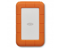 "HDD extern Lacie, 2TB, Rugged Secure, 2.5"", USB 3.0, argintiu si portocaliu, AES-256 hardware encryption,"