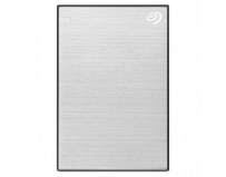 "HDD extern Seagate, 1TB, Backup Plus Slim, 2.5"", USB 3.0, Metalic, Argintiu"