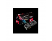 Placa video Asus AMD RADEON RX580, ROG-STRIX-RX580-T8G-GAMING, 8GB GDDR5, Boost Clock: 1431Mhz (OC MODE)/1411Mhz