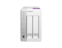 QNAP Tower NAS, TS-231P, 2-Bay, ARM Cortex-A15 dual-core 1.7Ghz, 1GB SODIMM RAM, SATA 6Gb/s, 2x GbE