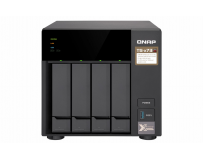"QNAP Tower NAS, TS-473-8G, 4-Bay, AMD RX-421ND 2.1~3.4 GHz, 8GB DDR4 SODIMM RAM (max 64GB), 8x 2.5""/3.5"""