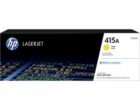 Toner HP 415A W2032A, yellow, 2.1k, HP Color LaserJet Pro M454dn, HP Color LaserJet Pro M454dw, HP Color