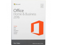 Licenta retail Microsoft Office Mac Home and Business 2016 English Medialess P2