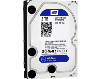 "HDD intern WD, 3.5"", 3TB, BLUE, SATA3, IntelliSeek (5400rpm),  64MB, advanvced format (AF)"
