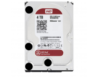 "HDD intern WD, 3.5"", 4TB, RED, SATA3, IntelliPower (5400rpm), 64MB, adv. format(AF), NASware"
