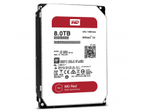 "Hdd intern WD, Red NAS Hard Drive WD80EFZX, 3.5"" x 1/3H, 8Tb, SATA 6Gb/s, 5400Rpm, 128mb"