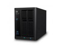 NAS WD, 2Bay, 4TB, My Cloud Pro Series PR2100, Gigabit Ethernet, 2 x USB 3.0, 2 x Ethernet 1000Base-T,
