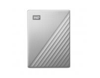 "HDD extern WD, My Passport Ultra, 1TB, 2.5"" USB 3.0, Argintiu"