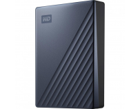 "HDD Extern WD, My Passport Ultra, 4TB, 2.5"", USB 3.0, Albastru"