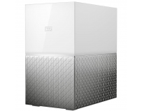 NAS WD, 2 Bay, 6TB, My Cloud Home Duo, Gigabit Ethernet, USB 3.0 expansion port (x2), Dual-drive storage,