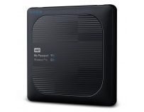 "HDD extern WD, My Passport Wireless PRO, 2TB, 2.5"" USB 3.0, Negru"