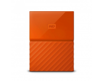 HDD Extern WD, 2TB, My Passport, 2,5 USB 3.0, Portocaliu