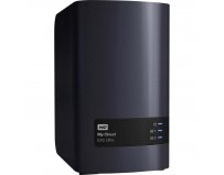 "NAS WD, MY CLOUD EX2 Ultra, 2 Bay 3.5"", 4TB, Wd Red NAS drives, Gigabit Ethernet, USB 3.0 x2, RAID 0,"