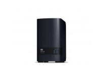"NAS WD, MY CLOUD EX2 Ultra, 2 Bay 3.5"", 16TB, Wd Red NAS drives, Gigabit Ethernet, USB 3.0 x2, RAID"