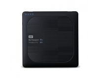 "HDD extern WD, 1TB, My Passport, 2,5"" USB 3.0, negru, wireless"