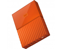 "HDD extern WD, 4TB, My Passport, 2,5"" USB 3.0, portocaliu"