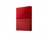 "HDD extern WD, 4TB, My Passport, 2,5"" USB 3.0, rosu"