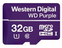 Micro Secure Digital Card Western Digital, 32GB, Clasa 10, purple, fara adaptor