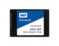 "SSD WD, 1TB, Blue, 2.5"", SATA3 6GB/s, R/W speed: 560/530MB/s, 3D NAND, 7mm"