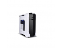 Carcasa Spire X2 SPITZER 20 WINDOW WHITE, fara sursa, ATX/mATX, 2 *USB2.0, 1*USB 3.0, 2x 120 mm fan,