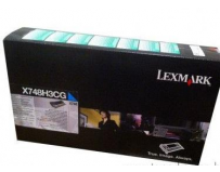 Cartus toner Lexmark X748H3CG, cyan, 10 k, X748de , X748de Statoil , X748de with total 5 years warranty