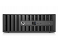Desktop HP ProDesk 400 G3 Microtower, Intel Core i3-6100 (3.7 GHz, 3MB), video integrat Intel HD Graphics,