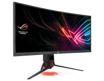 "Monitor 35"" ASUS XG35VQ, Gaming, UWQHD 3440x1440, curved, 21:9, up to 100 Hz, VA, WLED, 4ms, 300 cd/m2,"