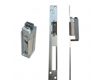 Electromagnet fail lock Assa Abloy YB37-12D-LR, 12Vcc, 180mA, contact monitorizare, include placa suport